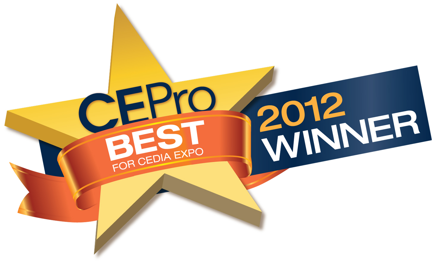 CE Pro Best Award Winner 2012