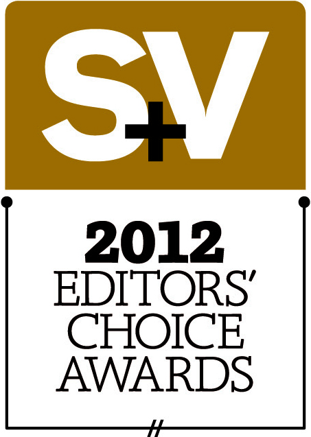 Sound & Vision 2012 Editors' Choice Award