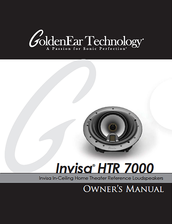 Invisa HTR 7000 Manual