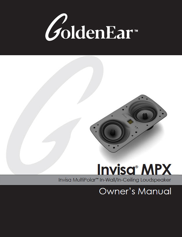 Invisa MPX Manual