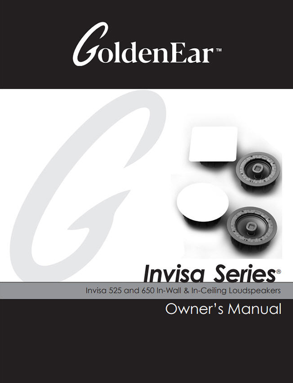 Invisa 525 and 650 Manual