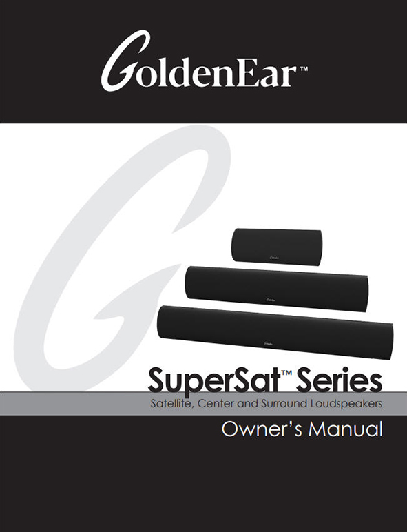 SuperSat Series Manual