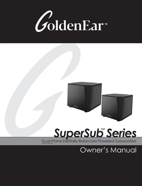 SuperSub Series Manual